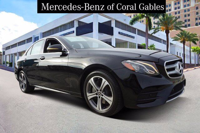 2020 Mercedes-Benz E 350 4MATIC® Sedan LA740997 Coral Gables FL