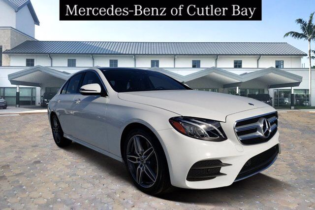 2020 Mercedes-Benz E 450 4MATIC® Sedan Cutler Bay FL