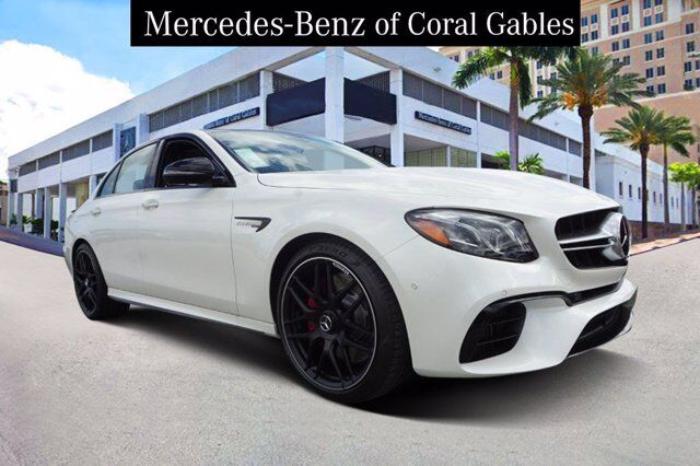2020 Mercedes-Benz E AMG® 63 S Sedan Coral Gables FL