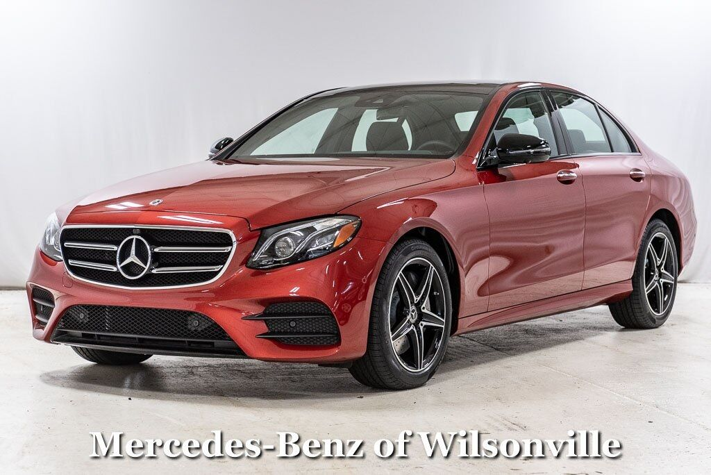 2020 Mercedes-Benz E-Class E 350 4MATIC® Sedan Wilsonville OR