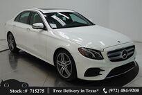 Mercedes-Benz E-Class E 350 NAV,CAM,SUNROOF,HTD STS,BLIND SPOT,AMG WLS 2020
