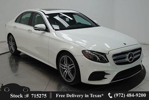 2020_Mercedes-Benz_E-Class_E 350 NAV,CAM,SUNROOF,HTD STS,BLIND SPOT,AMG WLS_ Plano TX