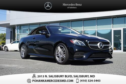 2020_Mercedes-Benz_E-Class_E 450 4MATIC® ** Mercedes-Benz Certified Pre-Owned **_ Salisbury MD