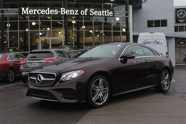 2020 Mercedes-Benz E-Class E 450 4MATIC® Coupe Seattle WA