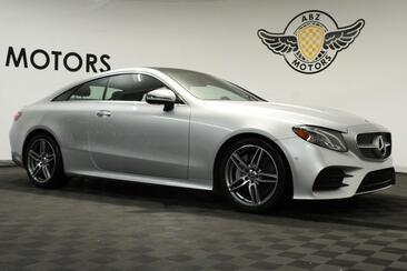 2020_Mercedes-Benz_E-Class_E 450 Coupe Sport AMG 12.3 Digital Cluster Red interior 360 Cam HUD_ Houston TX
