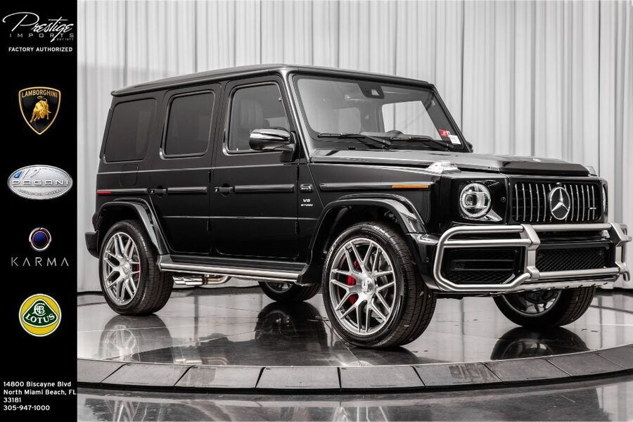 2020_Mercedes-Benz_G-Class_AMG G 63_ North Miami Beach FL
