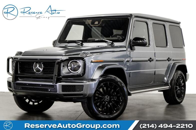 2020 Mercedes-Benz G-Class G550 Night Pkg AMG Line Pkg Widescreen Instrument Cluster The Colony TX