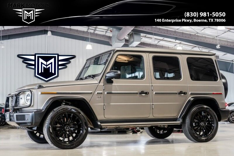 2020_Mercedes-Benz_G550_Stronger Than Time Edition_ Boerne TX