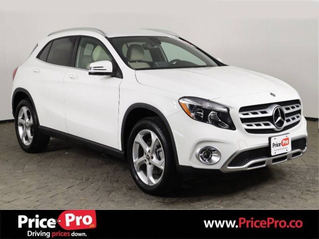 2020 Mercedes-Benz GLA 250 4MATIC w/Heated Leather