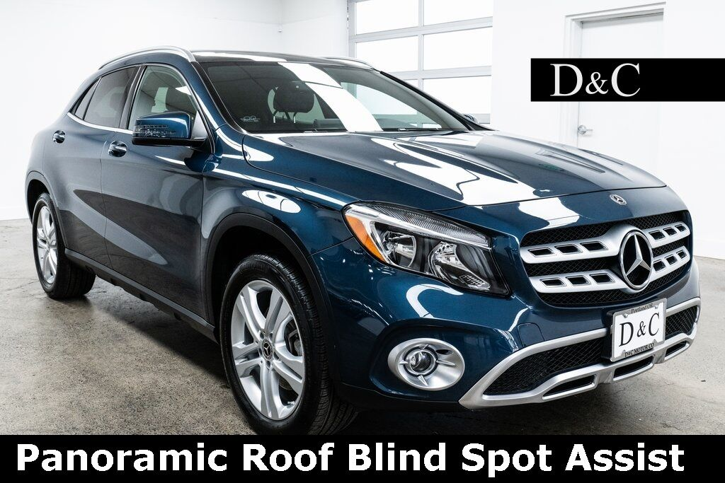 2020 Mercedes-Benz GLA GLA 250 4MATIC Panoramic Roof Blind Spot Assist Portland OR