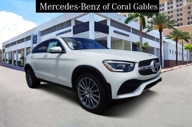 2020 Mercedes-Benz GLC 300 4MATIC® Coupe LF821678 Coral Gables FL