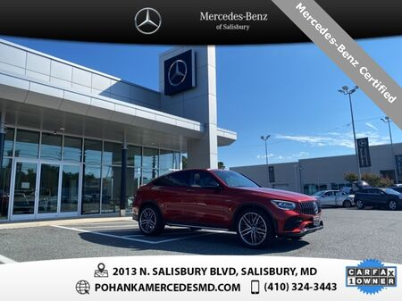 2020_Mercedes-Benz_GLC_GLC 43 AMG® 4MATIC®** Mercedes-Benz Certified **_ Salisbury MD