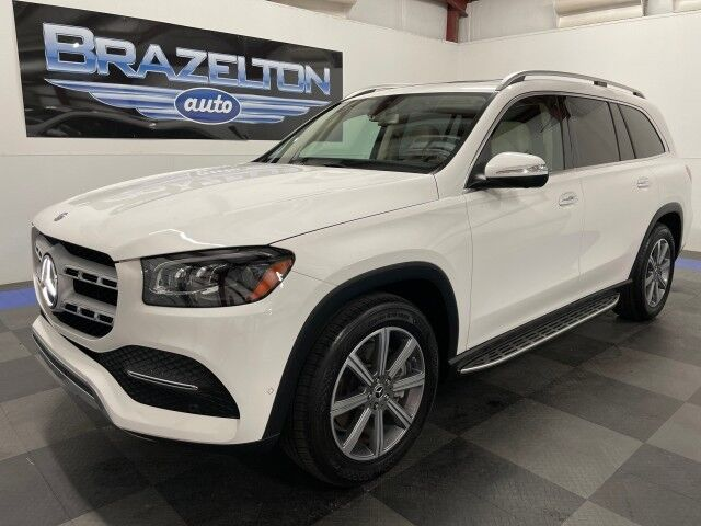 2020 Mercedes-Benz GLS450 2nd Row Buckets, Illuminated Running Boards, 4-Zone Climate, H&C Seats Houston TX