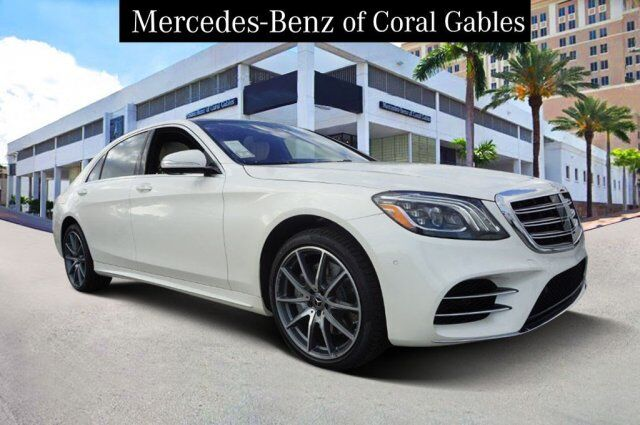 2020 Mercedes-Benz S 560 4MATIC® Sedan Coral Gables FL