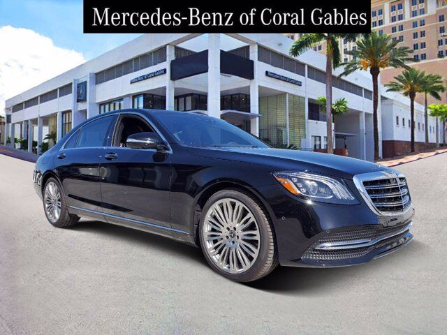 2020 Mercedes-Benz S 560 Sedan # LA559576 Coral Gables FL