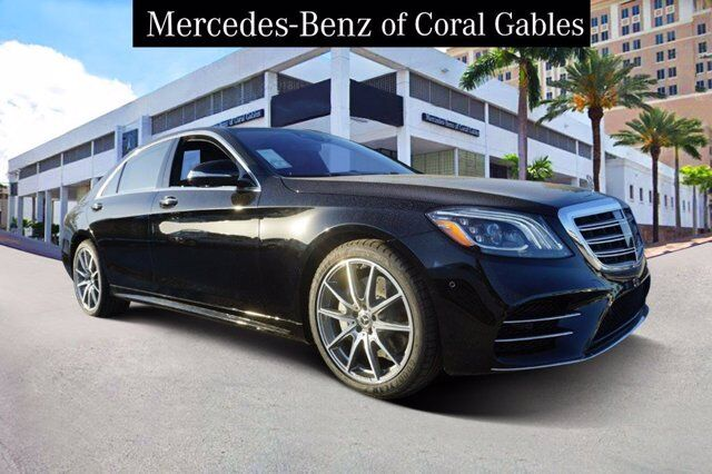 2020 Mercedes-Benz S 560 Sedan # LA531375 Coral Gables FL