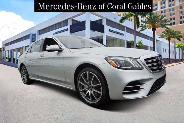 2020 Mercedes-Benz S 560 Sedan Coral Gables FL