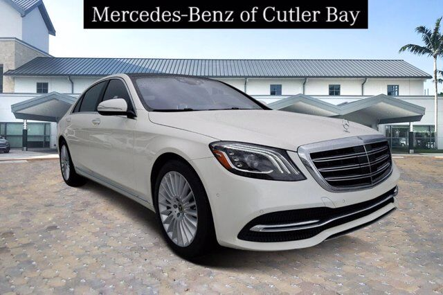 2020 Mercedes-Benz S 560 Sedan # LA515526 Cutler Bay FL