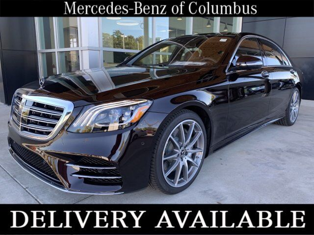 2020 Mercedes-Benz S 450 Ruby Black Metallic Columbus GA