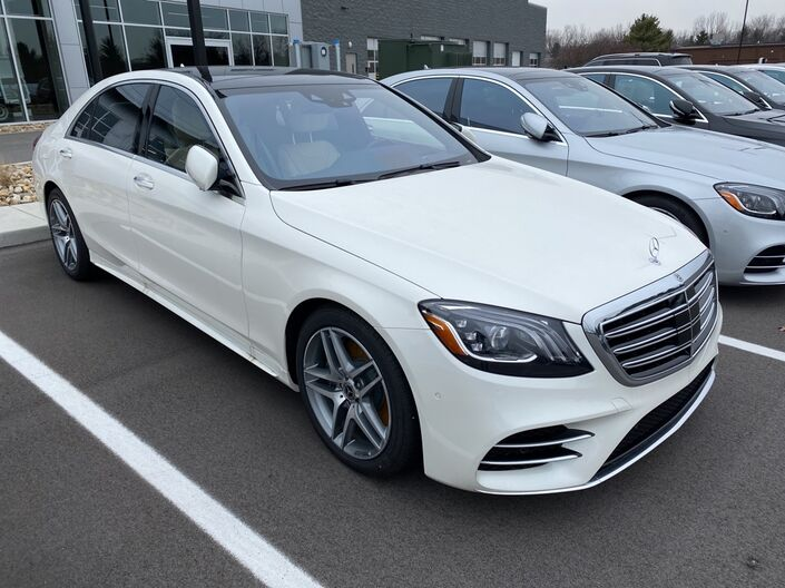 2020 Mercedes-Benz S-Class S 560 4MATIC® Sedan Indianapolis IN