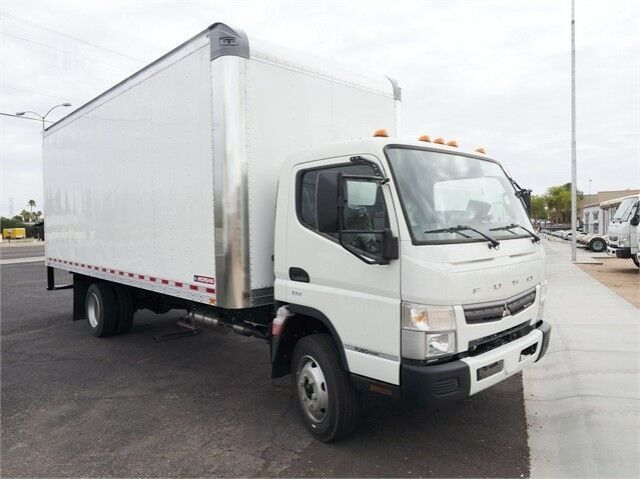 2020 Mitsubishi FE140GAS 18' Dry Box Truck - Ask for available lift gates! Miami FL