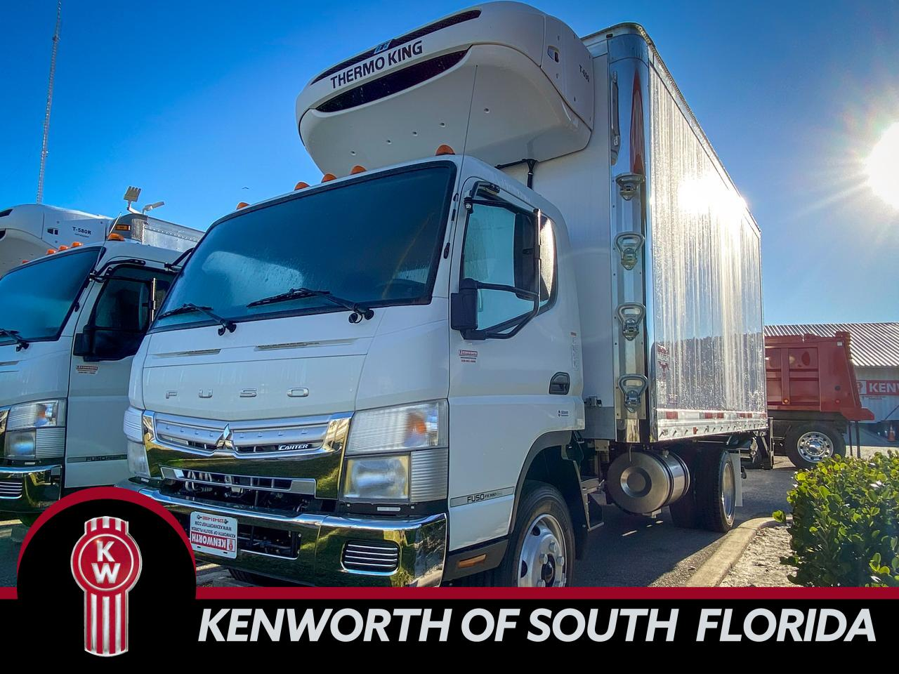 2020 Mitsubishi Fuso FE180 Refrigerated Fort Lauderdale FL