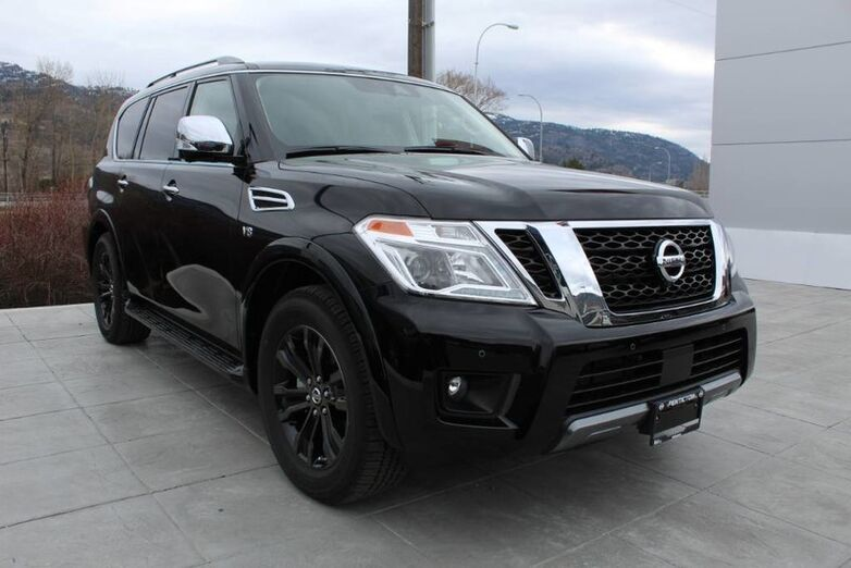 2020 Nissan Armada PLATINUM, ULTIMATE IN LUXURY, FULL SIZE HIGH ROLLER SUV Penticton BC