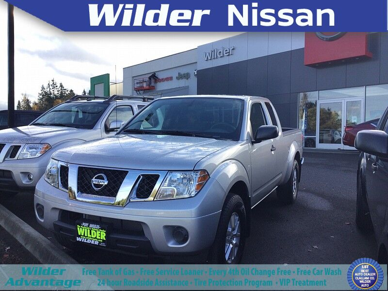 2020 Nissan Frontier King Cab 4x4 SV Auto Port Angeles WA