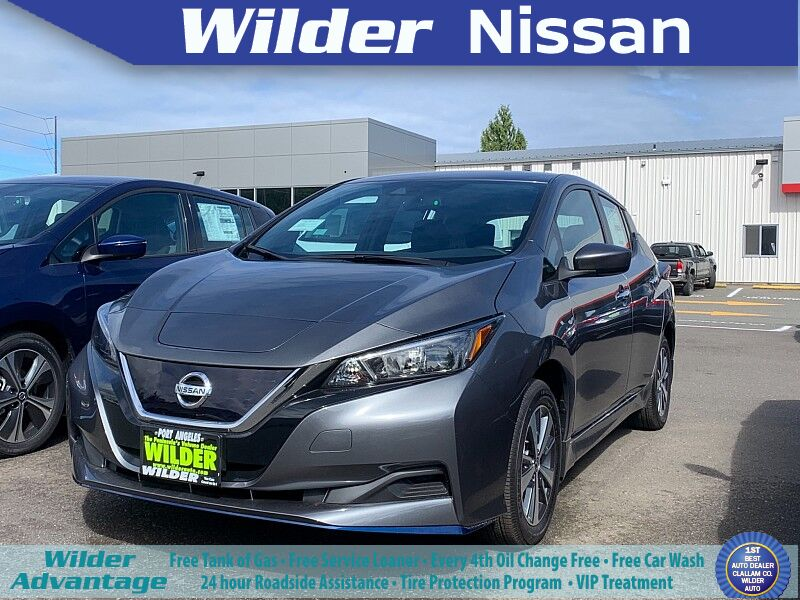 2020 Nissan Leaf 4d Hatchback S Plus Port Angeles WA