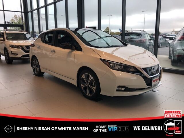 2020 Nissan Leaf SL Plus White Marsh MD