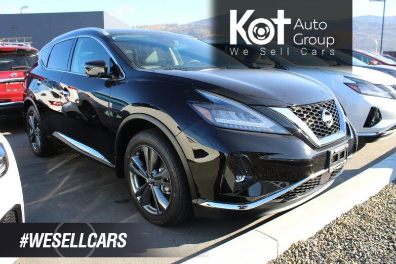 2020 Nissan Murano AWD Platinum, Includes Winter Tires, Ground Lighting, Illuminated Kick Boards Penticton BC