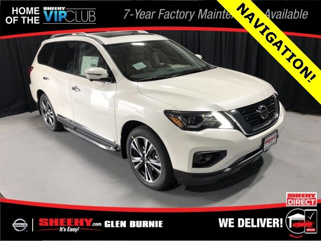 2020 Nissan Pathfinder Platinum Glen Burnie MD