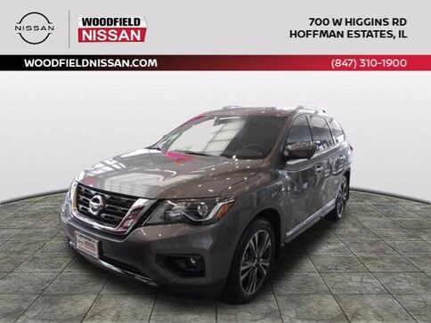 2020_Nissan_Pathfinder_Platinum_ Hoffman Estates IL