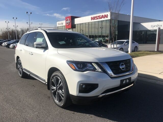 2020 Nissan Pathfinder Platinum White Marsh MD