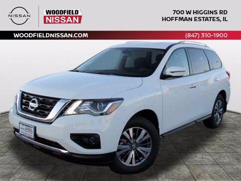2020_Nissan_Pathfinder_S_ Hoffman Estates IL