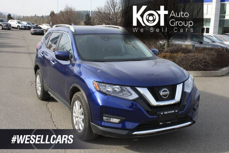 2020 Nissan Rogue SV HEATED SEATS! SUNROOF! BACKUP CAMERA! BLINDSPOT! REMOTE START! PUSH BUTTON! Kelowna BC