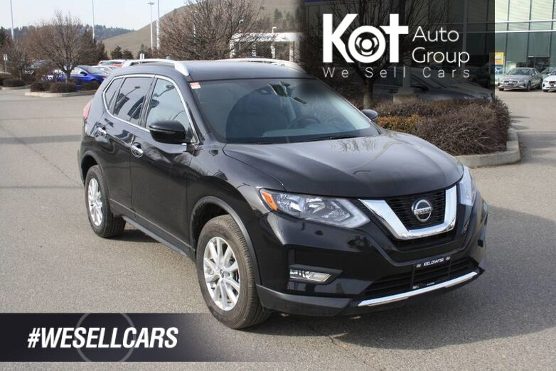 2020 Nissan Rogue SV Heated seats, Sunroof, Backup camera,blindspot, remote start, Push button. Kelowna BC