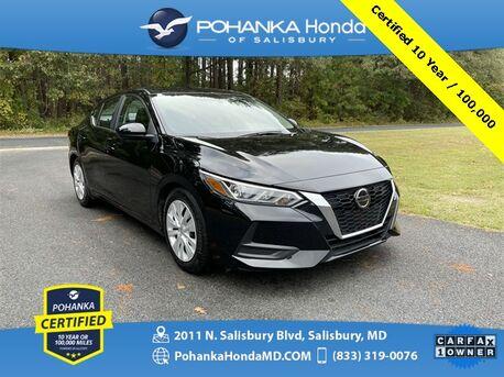 2020_Nissan_Sentra_S ** Pohanka Certified 10 Year / 100,000 **_ Salisbury MD
