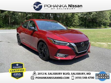 2020_Nissan_Sentra_SR Nissan Certified Pre-Owned_ Salisbury MD