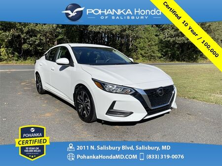 2020_Nissan_Sentra_SV ** Pohanka Certified 10 Year / 100,000 **_ Salisbury MD
