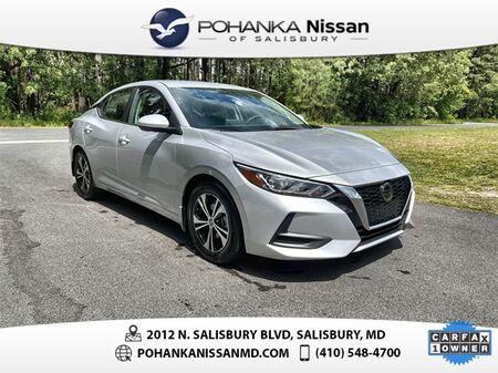 2020_Nissan_Sentra_SV Nissan Certified Pre-Owned_ Salisbury MD