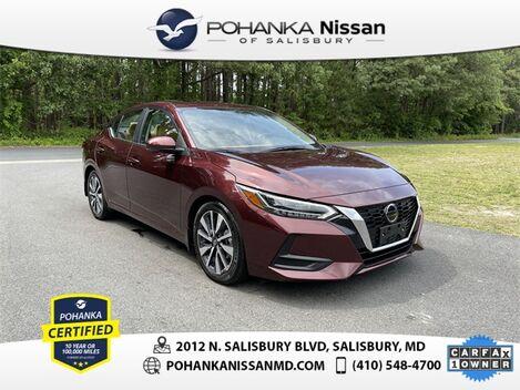 2020_Nissan_Sentra_SV_ Salisbury MD