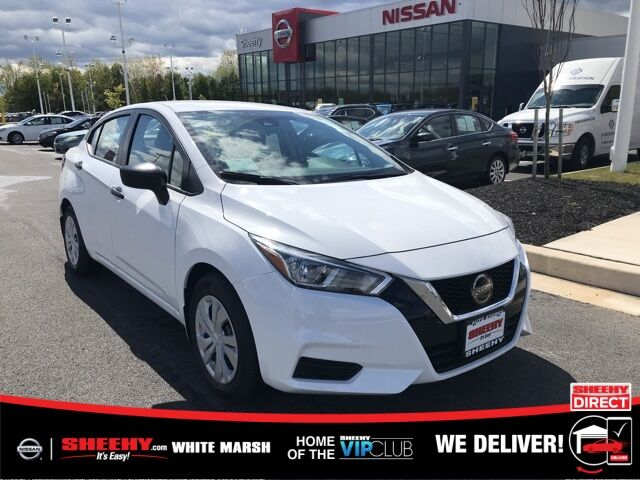 2020 Nissan Versa 1.6 S White Marsh MD