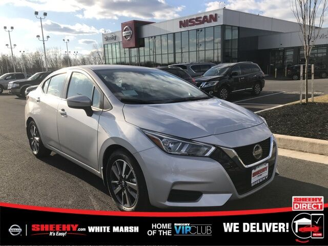 2020 Nissan Versa 1.6 SV White Marsh MD