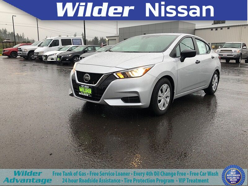 2020 Nissan Versa 4d Sedan S CVT Port Angeles WA