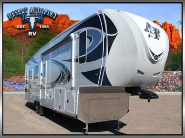 Northwood Arctic Fox 35-5Z Triple Slide 5th Wheel RV Treated w/Cilajet Anti-Microbial Fog Mesa AZ