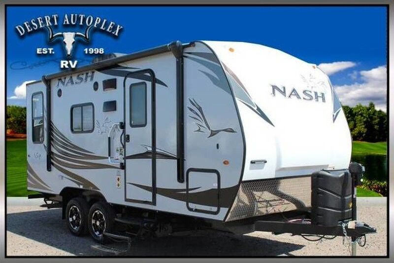 2020 Northwood Nash 17K Travel Trailer RV Treated w/Cilajet Anti-Microbial Fog Mesa AZ