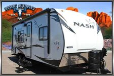 2020 Northwood Nash 22H Travel Trailer 2.99% Interest and Zero Down! O.A.C.