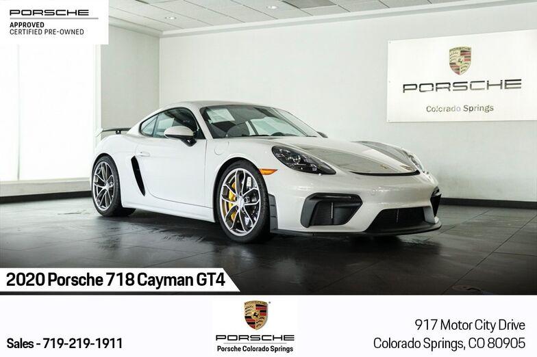 2020 Porsche 718 Cayman GT4 Colorado Springs CO