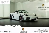 Porsche 718 Spyder Base 2020